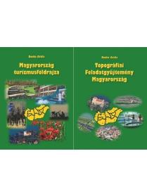 Magyarország turizmusföldrajza + Topográfiai Feladatgyűjtemény Magyarország